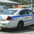 NYPD school safety car — Stock Photo