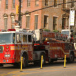 Stock Photo: FDNY Ladder Company 118 in Brooklyn