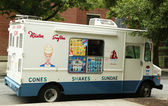 Mister Softee ice cream truck in Park Slope section of Brooklyn — Stock Photo
