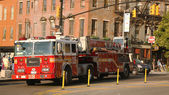 FDNY Ladder Company 118 in Brooklyn — Stock Photo