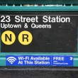 Stock Photo: Subway entrance at 23rd Street in NYC