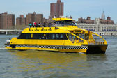 New York City Water Taxi — Stock Photo