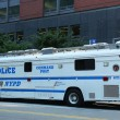Stock Photo: NYPD Command Post in World Trade Center areof Manhattan