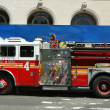 Stock Photo: FDNY Engine 4 in Lower Manhattan