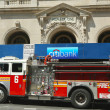 Stock Photo: FDNY Engine 6 in Lower Manhattan