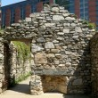 New York City Irish Hunger Memorial — Stock Photo