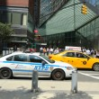 NYPD on high alert after terror threat in New York City — Foto de Stock