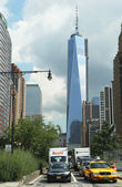 Freedom Tower in Lower Manhattan — Stock Photo
