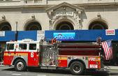 FDNY Engine 6 in Lower Manhattan — Stock Photo