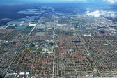Areal view of Miami, Florida — Stock Photo