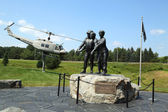 Vietnam War Memorial in Bangor, Maine — Stock Photo