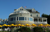 Historic Bar Harbor Inn in Bar Harbor, Maine — Stock Photo