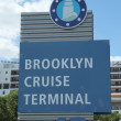 Постер, плакат: Brooklyn Cruise Terminal sign