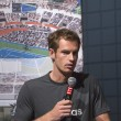 Foto Stock: Two times Grand Slam champion Andy Murray at 2013 US Open Draw Ceremony
