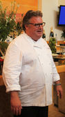 Celebrity chef David Burke during US Open food tasting preview — Stock Photo