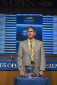 USTA Chairman, CEO and President Dave Haggerty at the 2013 US Open Draw Ceremony — Stock Photo
