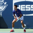 Seven times Grand Slam champion Novak Djokovic  participates at Arthur Ashe Kids day at Billie Jean King National Tennis Center — Stock Photo