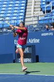 Two times Grand Slam champion Victoria Azarenka practices for US Open 2013 at Arthur Ashe Stadium — Stock Photo