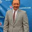 Two times Academy Award winner Kevin Spacey at the red carpet before US Open 2013 opening night ceremony  — Stock Photo