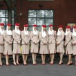 Emirates Airline flight attendants at Billie JeKing National Tennis Center during US Open 2013 — ストック写真 #31437867