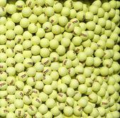 US Open Wilson tennis balls at Billie Jean King National Tennis Center — Stock Photo