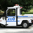 NYPD Interceptor Scooter providing security near National Tennis Center during US Open 2013 — Stock Photo