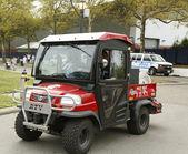 FDNY Haz-Mat Kubota RTV Utility Vehicle near National Tennis Center during US Open 2013 — Stock Photo
