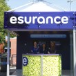 Stock Photo: Esurance booth at Billie JeKing National Tennis Center during US Open 2013