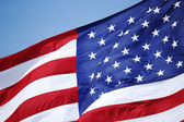Bandeira americana — Fotografia Stock