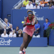 Seventeen times Grand Slam champion SerenWilliams during her final match at US Open 2013 — Stock Photo #32164195
