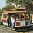 Stock Photo: Famous cable car in SFrancisco