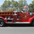 1950 Mack fire truck from Huntington Manor Fire Department — Stock Photo