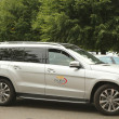 Stock Photo: Mercedes- Benz SUV at National Tennis Center during US Open 2013