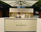 Moet and Chandon Terrace at the National Tennis Center during US Open 2013 — Stock Photo