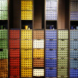 Stock Photo: Variety of coffee capsules in Nespresso store in Paris