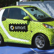 Smart Brabus Taylor made car on display at the Billie Jean King National Tennis Center during US Open 2013 — Stockfoto
