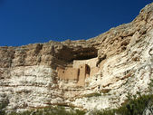 Montezuma Castle National Monument in Arizona — Stock Photo