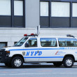 Stock Photo: NYPD traffic control vin Manhattan