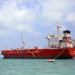 Ocean Mariner tanker near Belize City — Stock Photo