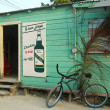 Local shop in Caye Caulker, Belize — Stock Photo
