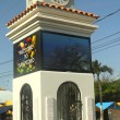 Clock Tower in San Pedro, Belize — Stock Photo