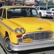 Checker Taxi Cab produced by the Checker Motors Corporation in Brooklyn — Stock Photo #35773873