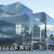 Jacob Javits Convention Center in Manhattan — Foto de Stock
