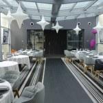 ������, ������: Tetedoie restaurant modern internal decoration in Lyon
