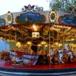 Traditional fairground carousel in Annecy, France — Stock Photo