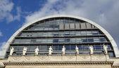 Nouvel opera house, em lyon, frança — Fotografia Stock