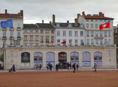 Only Lyon Tourist Information office at the Place Bellecour in Lyon — Stock Photo