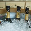 Moet and Chandon champagne presented at the National Tennis Center during US Open 2013 — Stockfoto