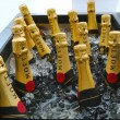 Moet and Chandon champagne presented at National Tennis Center during US Open 2013 — Stock Photo #36321793