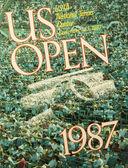 Uns öffnen 1987 Poster auf dem Display die Billie Jean King national Tenniscenter — Stockfoto